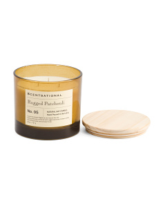Made In Usa 26oz Rugged Patchouli Candle