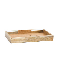Medium Wood Tray