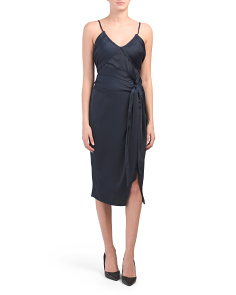 Juniors Sleeveless Midi Dress