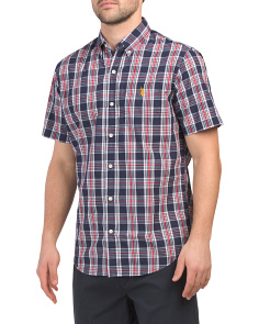 Short Sleeve Classic Fit Poplin Shirt