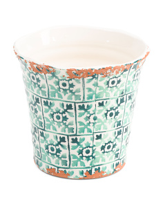 Made In Portugal Indoor Outdoor Ceramic Planter
