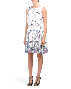 Floral Pop Over Dress