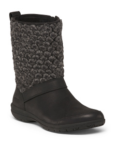 Full Grain Leather Cold Weather Boots