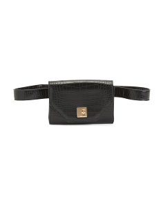 Vera Croco Convertible Belt Bag