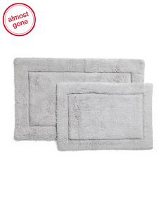 Made In India 2pk Salta Bath Rugs