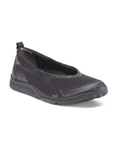 Wide Slip On Comfort Sneakers