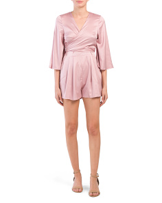 Juniors V-neck Playsuit