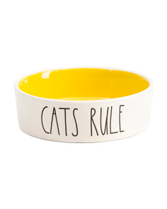 Small Cats Rule Bowl
