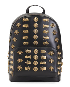 Made In Italy  Leather Backpack