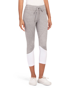 Textured Crop Leggings