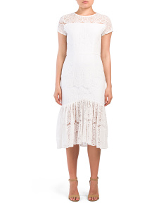 Adi Lace Midi Dress