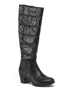 Memory Foam High Shaft Boots