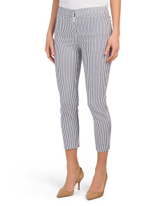 Classic Fit Pants With Comfort Waistband