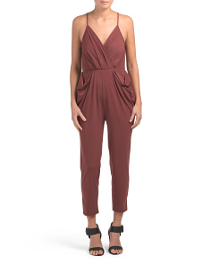 Drapey Pocket Solid Jumpsuit