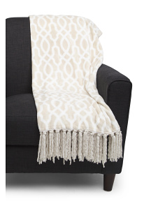 Legacy Fringe Throw