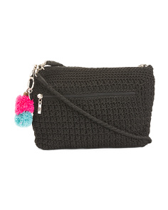 Handmade Crochet Adjustable Crossbody