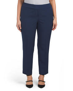 Plus Stretch Crepe Pants