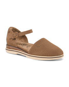 Elastic Ankle Strap All Day Comfort Shoes