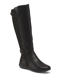 Wide Knee High Comfort Boots