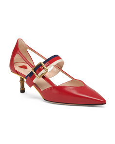 Made In Italy Leather Pumps
