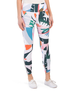 Palm Print Leggings