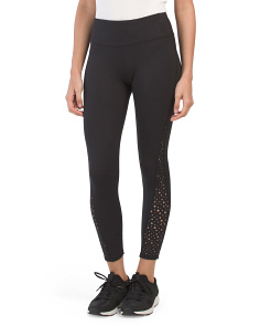 Star Laser Cut Leggings