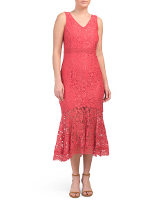 All Over Lace Nisi Dress