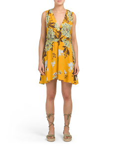 Marnie Floral Print Sleeveless Dress