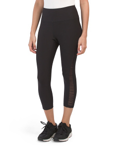 Ruched Barre Crop Active Pants
