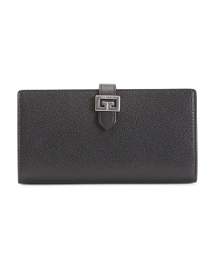 Made In Italy Gv3 Long Leather Wallet