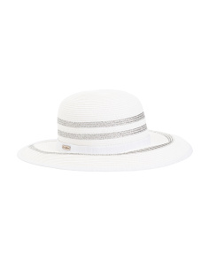 Backless Sun Hat With Upf Protection