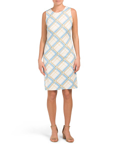 Printed Sophia Sheath Dress