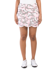 Incognito Scalloped Skort
