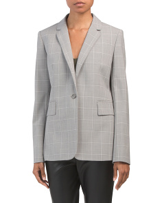 Essential Wool Blend Jacket