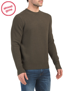 Haldon Merino Wool Sweater