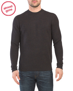 Haldon Merino Wool Crew Neck Sweater