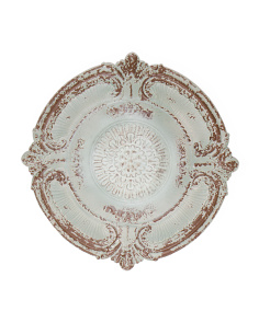 Galvanized Embossed Wall Medallion