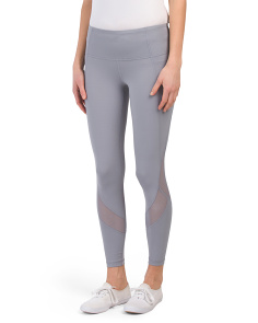 Interlock Hi Rise Ankle Mesh Leggings