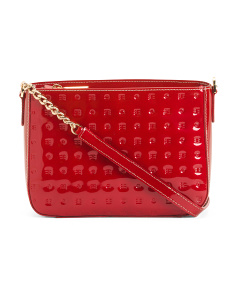 Made In Italy Patent Leather Crossbody