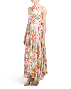 Juniors Vienna Orchard Maxi Dress