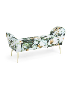 Velvet Pinion Bench