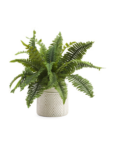 13in Faux Fern