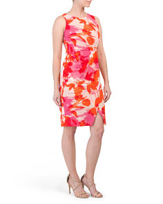 Faux Wrap Tulip Dress