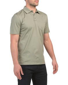 Daniel Short Sleeve Pique Polo