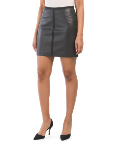 aa4f616617 Maisie Leather Pencil Skirt ...