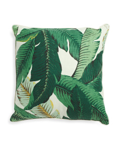 Made In Usa 24x24 Swaying Palms Pillow