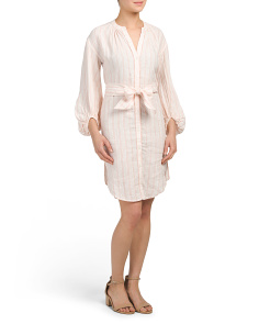 Beatrissa Linen Dress