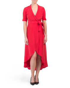 Silk Blend Imogene Dress
