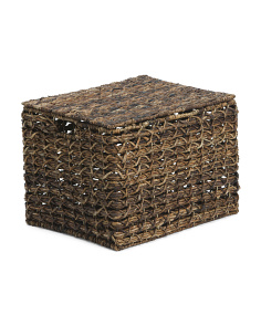 Large Rectangular Weave Basket