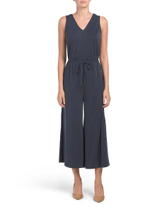Sleeveless Gaucho Jumpsuit